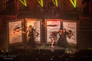 LACUNA COIL,Eluveitie, Infected Rain -Arena Wien, Vienna, 08.12.2019.