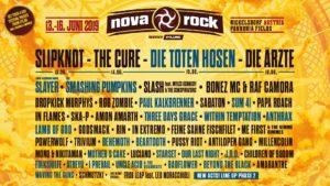 NOVA ROCK Festival 2019,  Nickelsdorf - Pannonia Fields II, 13-16.06.2019