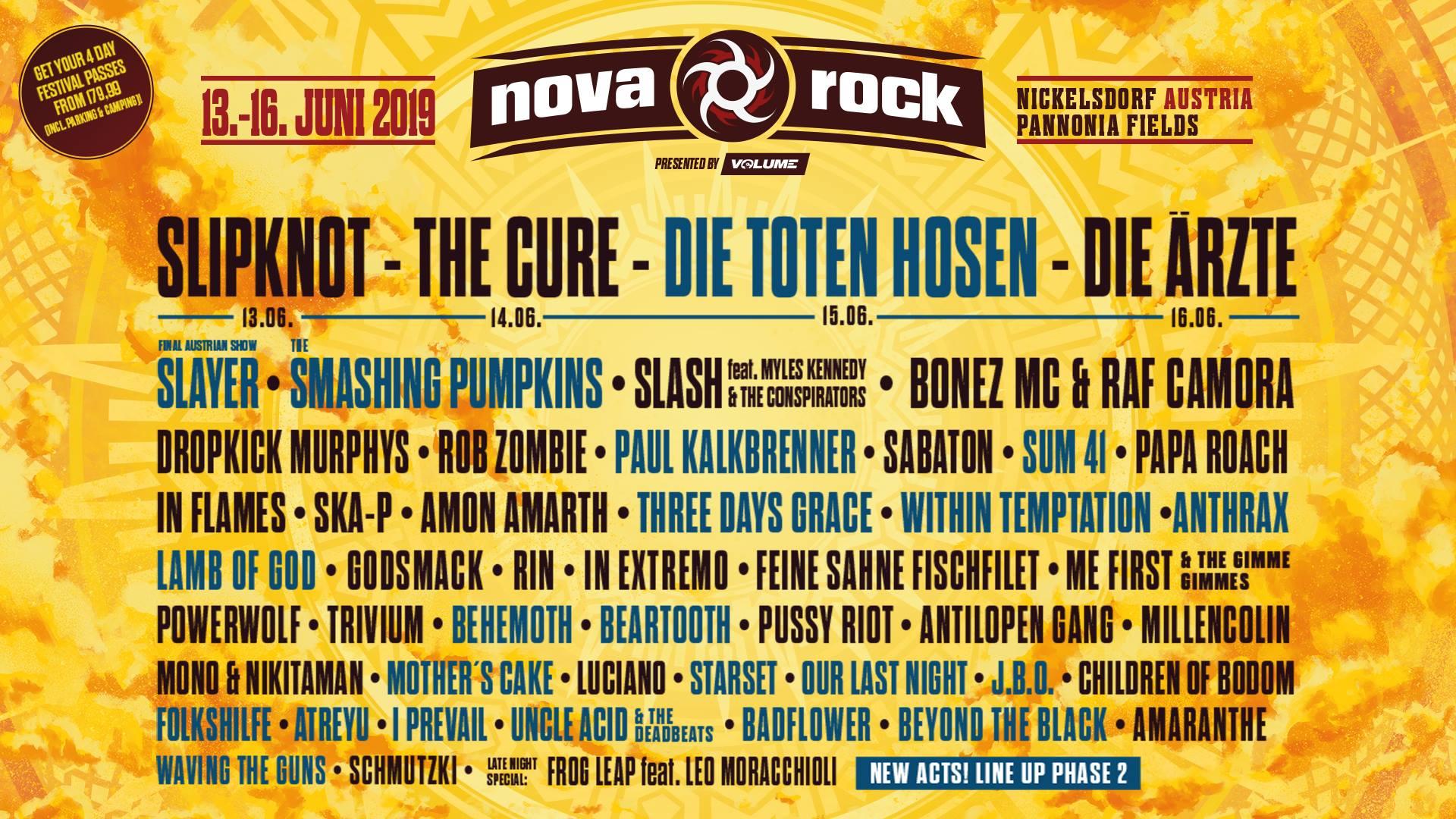 Nova Rock Festival 2019 Nickelsdorf Pannonia Fields Ii 13 1606