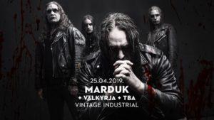 MARDUK, Valkyrija,  – Vintage Industrial Bar, Zagreb, 25.04.2019.