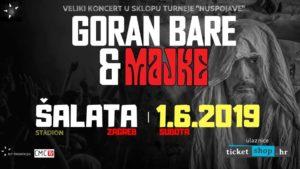 GORAN BARE & MAJKE - 01.06.2019. Šalata, Zagreb