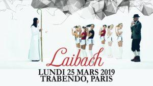 LAIBACH - Paris, Trabendo - 25.03.2019