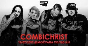 COMBICHRIST - Zagreb, Mocvara, 13.07.2019
