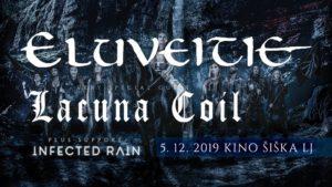 LACUNA COIL,Eluveitie, Infected Rain -Kino Šiška, LJubljana, 05.12.2019.