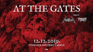 AT THE GATES- Tvornica Kulture, Zagreb- 12.12.2019.
