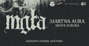 MGŁA - Klub Močvara, Zagreb, 6.09.2019.