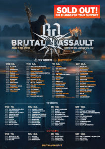 Brutal Assault 2019 is SOLD OUT
