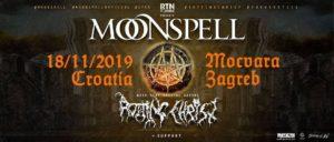 MOONSPELL & ROTTING CHRIST - Klub Močvara, Zagreb – 18.11.2019.