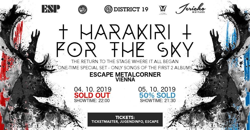 HARAKIRI FOR THE SKY, Vienna, 4.10.2019.