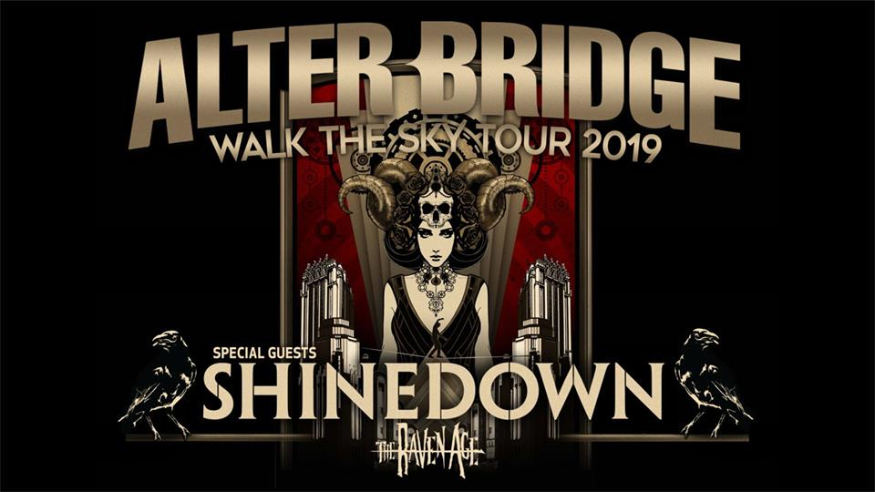 ALTER BRIDGE, Walk The Sky Tour 2019, Zenith - Die Kulturhalle, München, 27.11.2019.