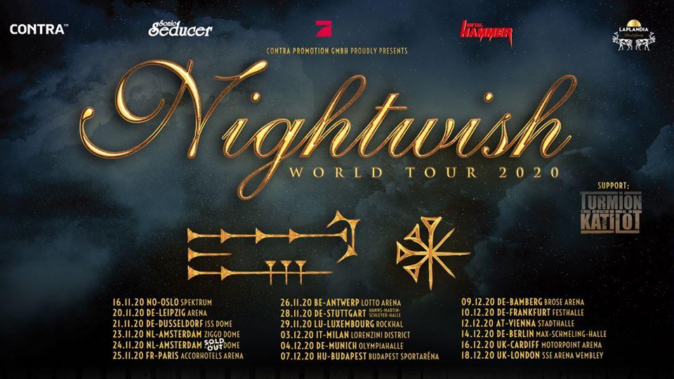 NIGHTWISH, Budapest Arena, Budapest, 7.12.2020.