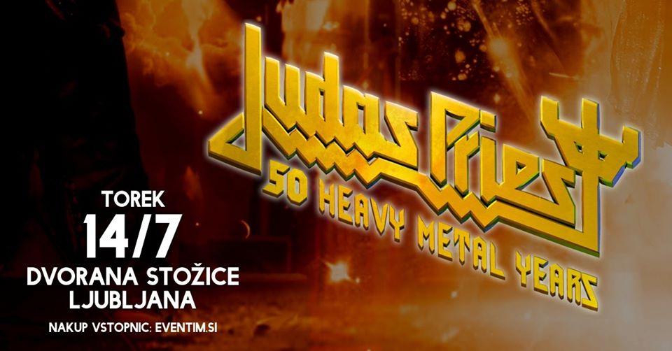 JUDAS PRIEST, Dvorana Stožice, Ljubljana, 14.07.2020.