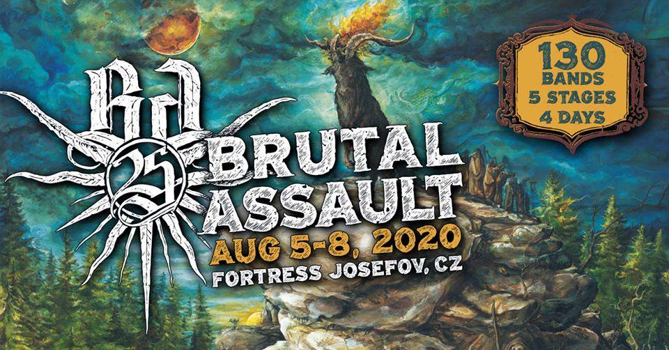 BRUTAL ASSAULT 25 (2020), Jaromer, 5.-9.08.2020.