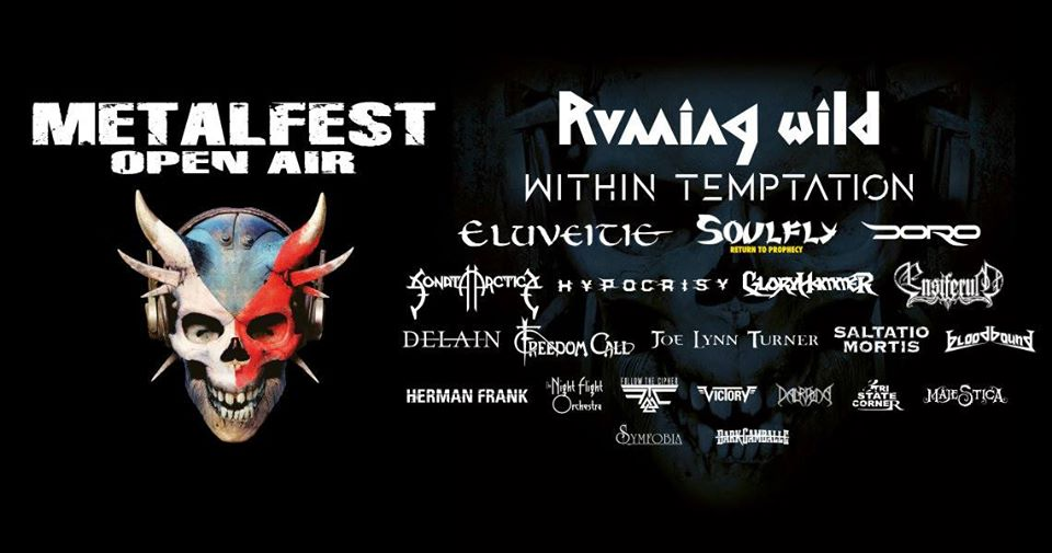 METALFEST OPEN AIR 2020, Plzen, Czech Republic, 5.-7.06.2020.