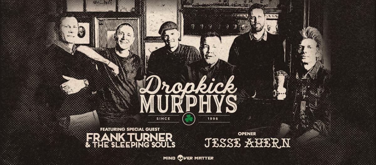 DROPKICK MURPHYS, Frank Turner & The Sleeping Souls, Wiener Stadthalle, Vienna, 18.02.2020.